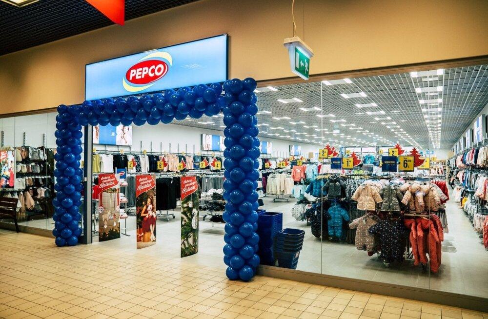 В июне в Эстонию расширится сеть дешевых польских магазинов Pepco