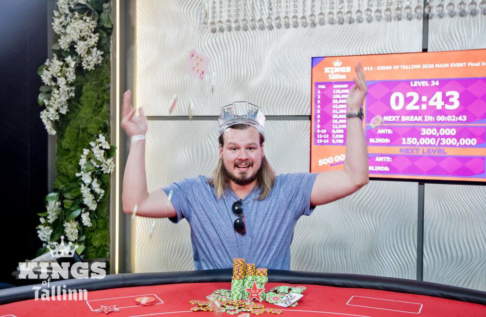 Eesti pokkerimängija teenis Tallinna suurturniiril üle 100 000 euro