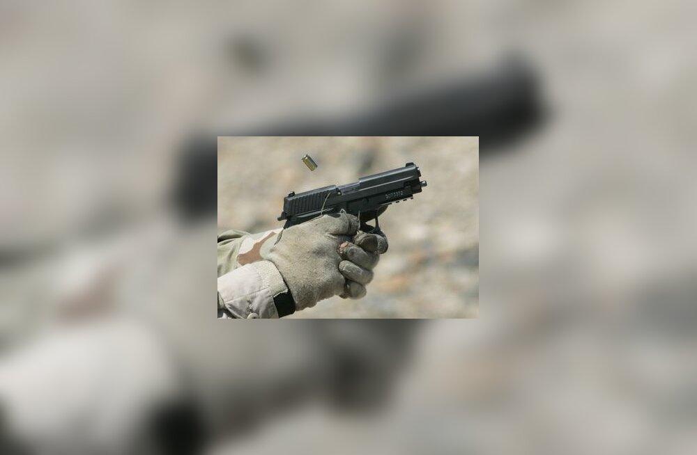 püstol, relv, tukk, tulistamine, iraak