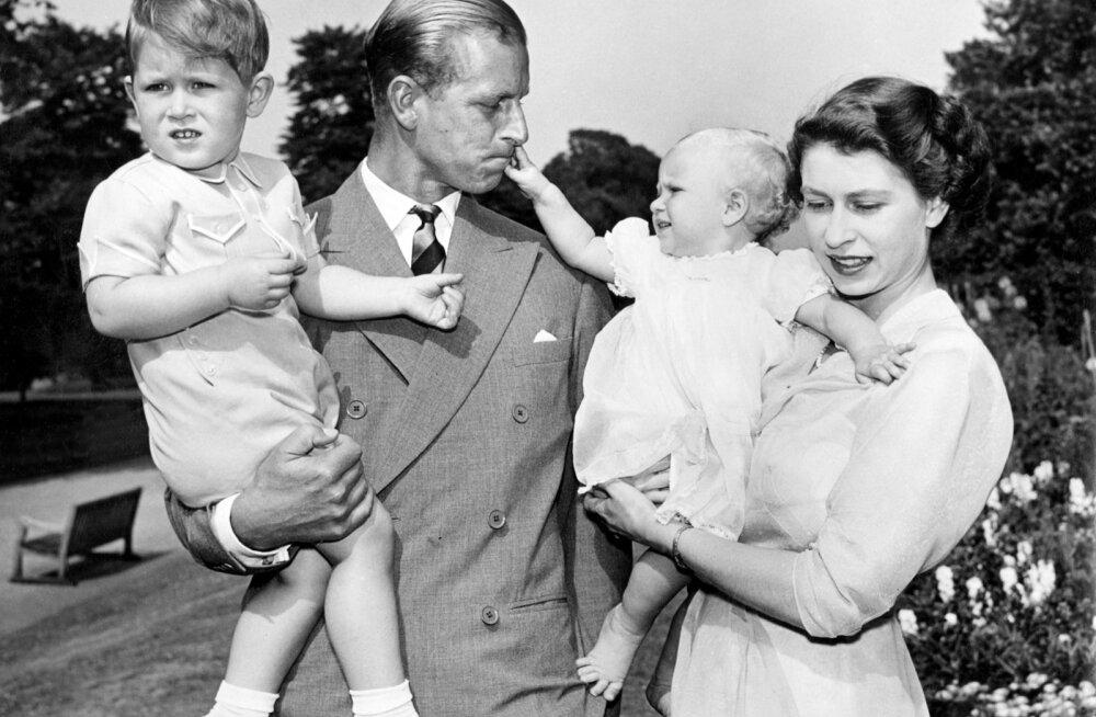 HIIGELGALERII | Kuninganna Elizabeth II ja prints Philip tähistavad 70. pulma-aastapäeva: Meenuta kuningliku paari säravamaid hetki läbi aegade!