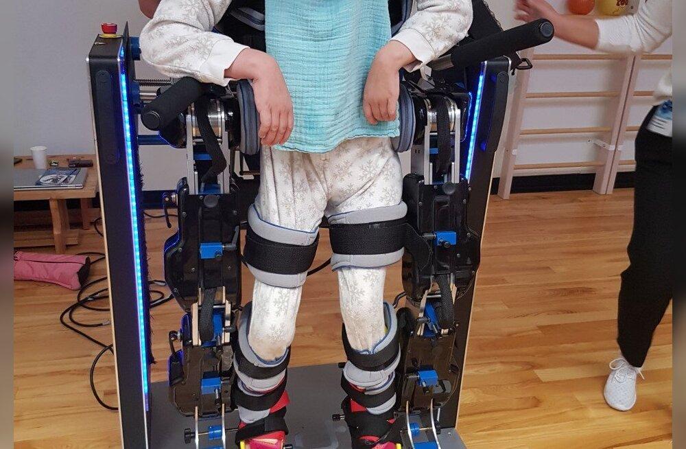 Pärnumaa ja selle lähipiirkondade lapsed saavad endale järgmisel aastal kõnniroboti