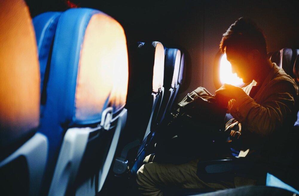 KASULIK   Kuidas ülipikk lennureis üle elada