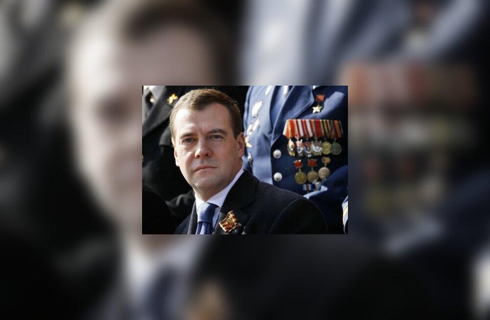 Medvedev, Dmitri, Vene, president, poliitik, paraad, georgi lint
