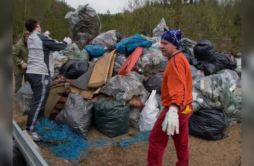 Balkani piirkond hakkab Eesti eeskujul prügi koristama
