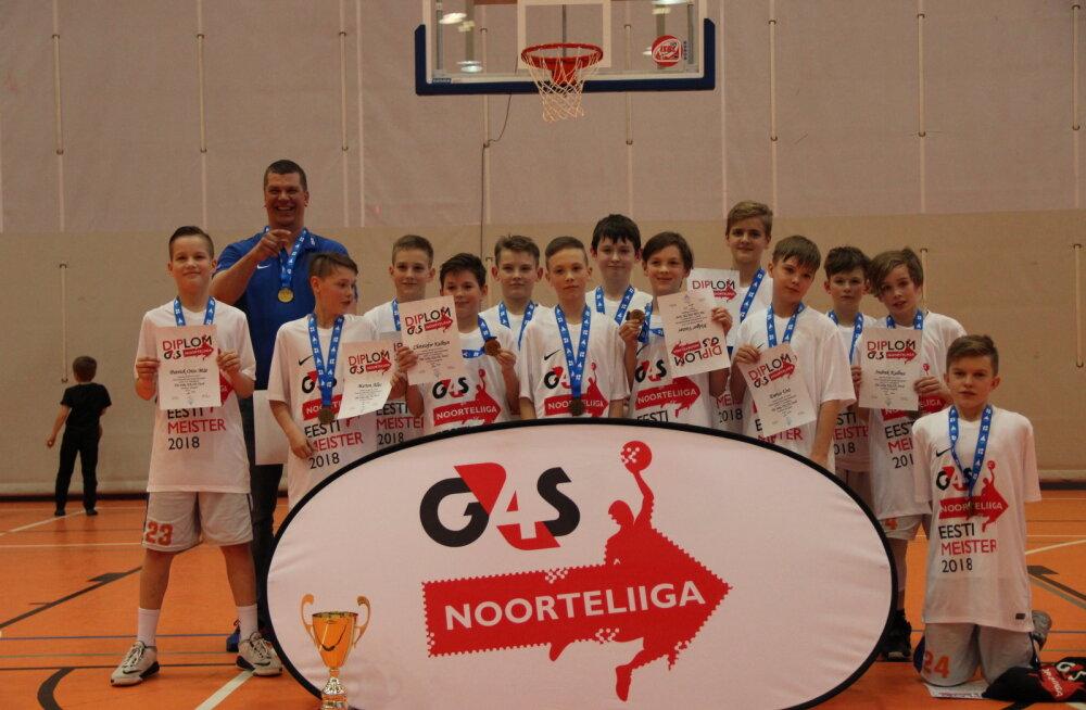 Tiit Soku kooli poisid krooniti mini-klassi Eesti meistriks