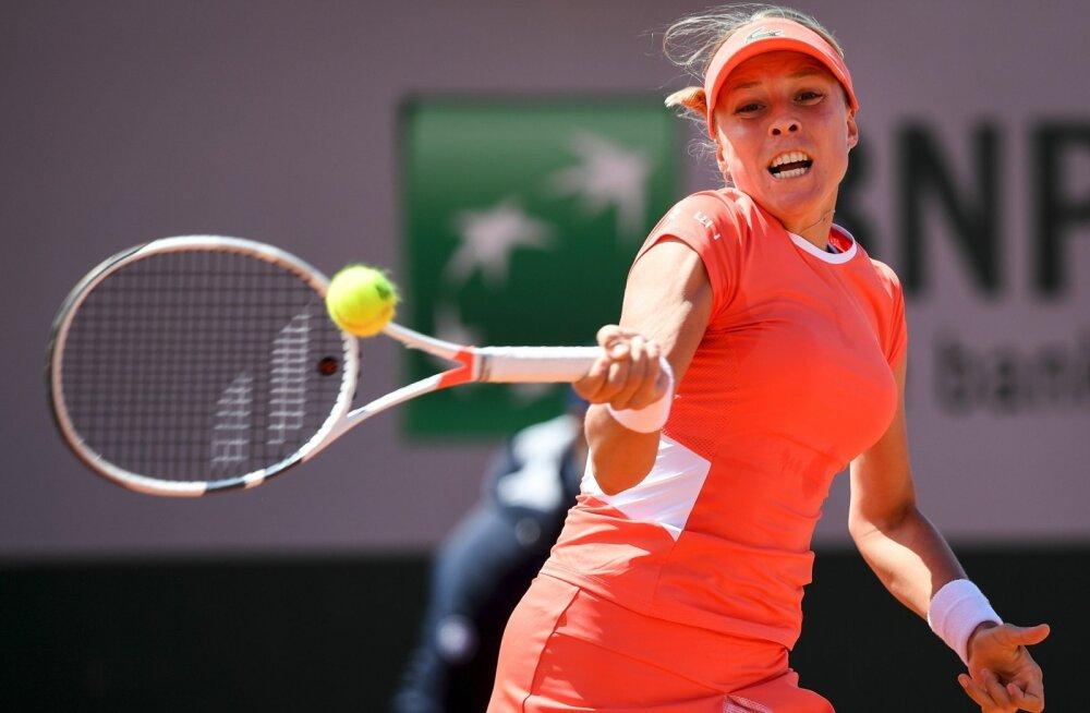 Anett Kontaveit ei näidanud French Openi avaringis kaugeltki oma parimat mängu.