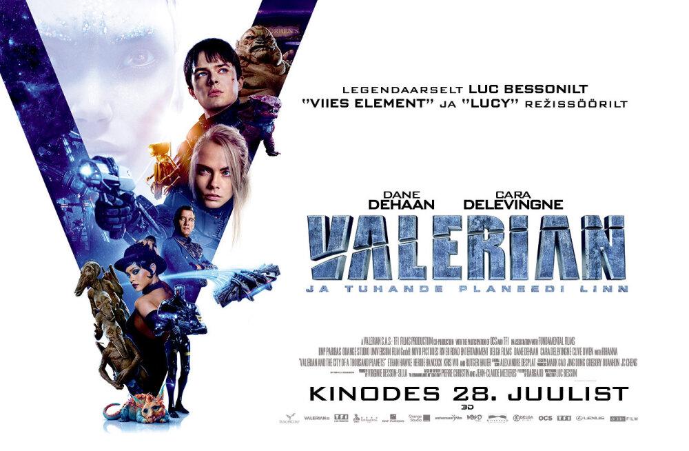 """Ärge üllatuge, kui peagi esilinastuv Luc Bessoni """"Valerian ja tuhande planeedi linn"""" pisut tuttavlik tundub"""