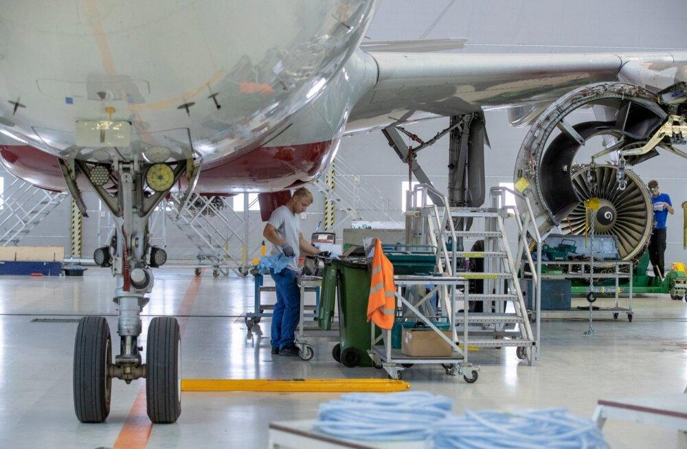 Lennukite remont Magnetic MRO-s