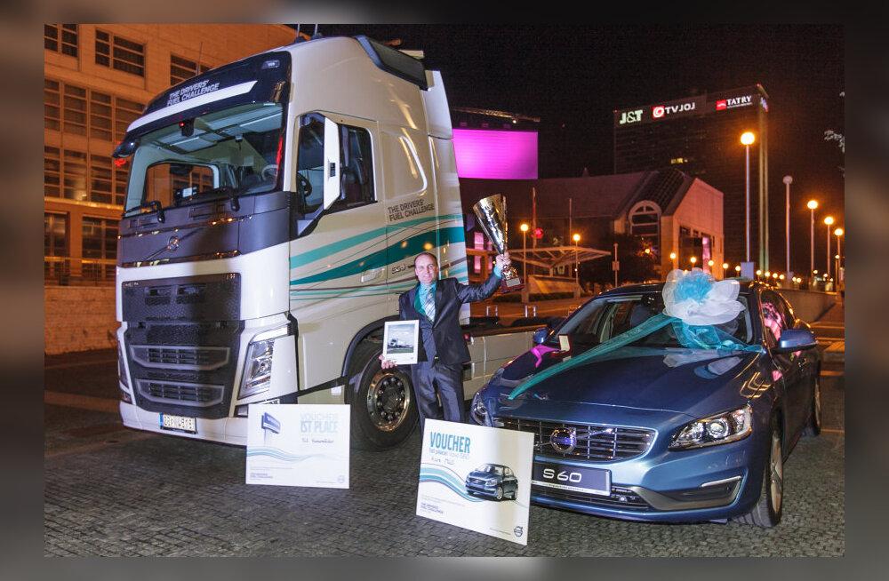 Märjamaa mees võitis veoautojuhtide ökonoomsussõidu MM-il 11 000 osaleja seas kolmanda koha