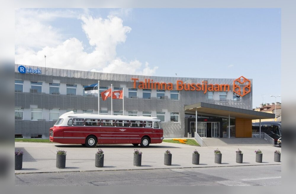 Автобусной линии Таллинн — Санкт–Петербург исполняется 60 лет!