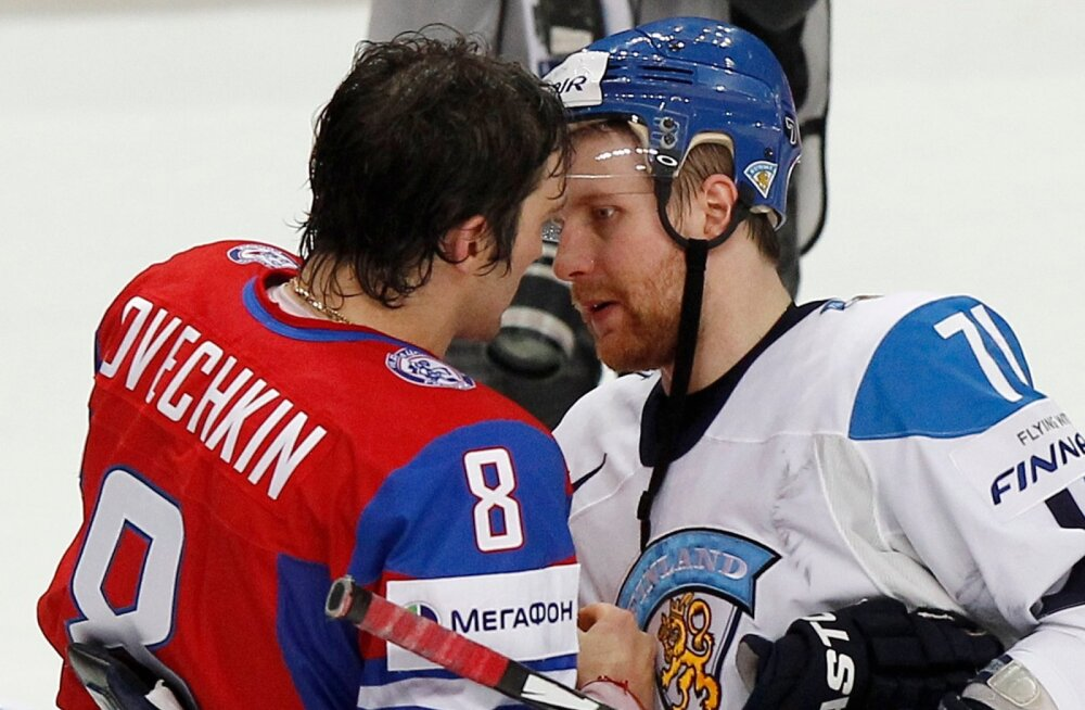 Alexander Ovechkin ja Leo Komarov
