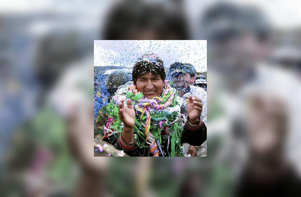 Boliivia president, Ladina-Ameerika, karneval