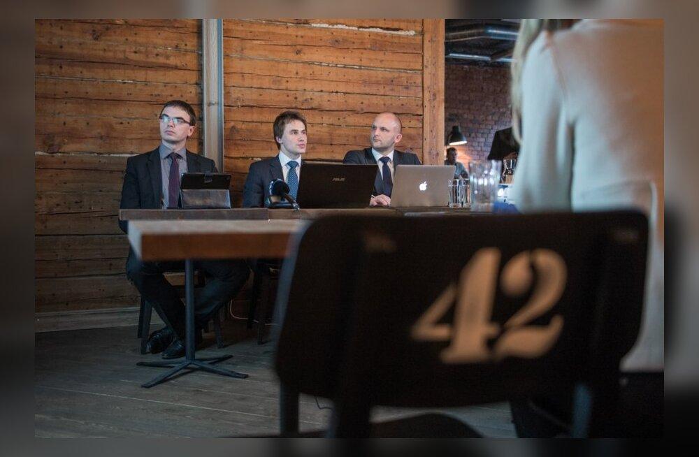 SDE riigikogu valimiste programmi maksupaketi. tutvustamine restoran Pööbel