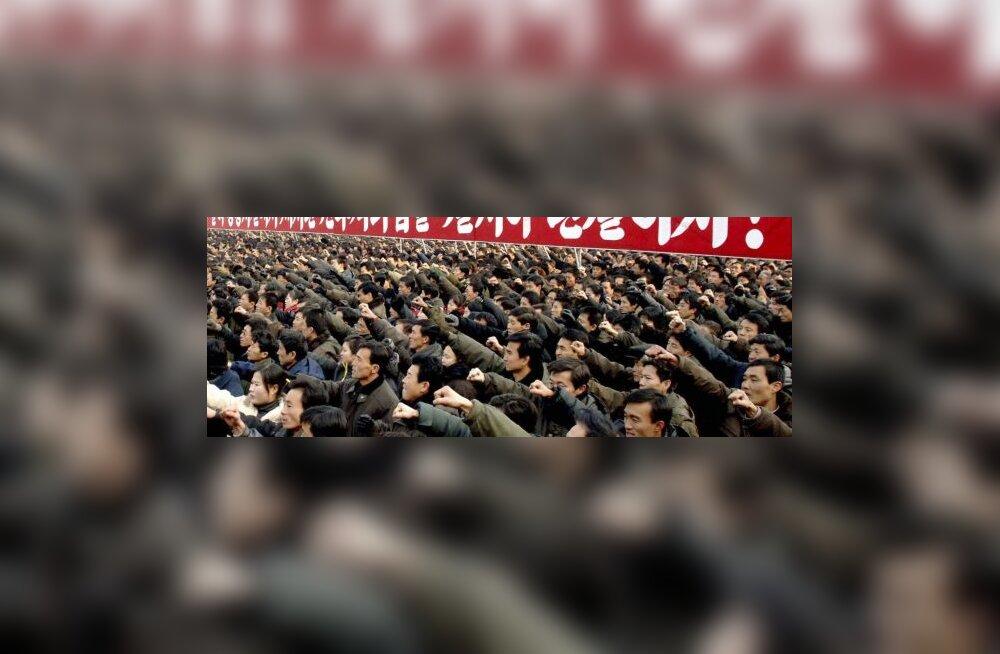Põhja-Korea süüdistab USAd sõjaks valmistumises