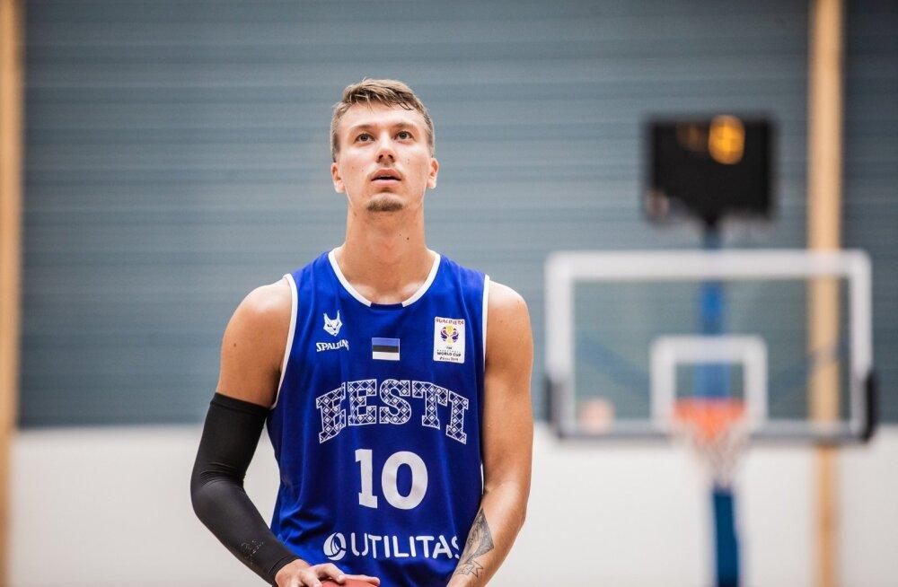 Eesti vs Belgia sõprusmäng korvpallis