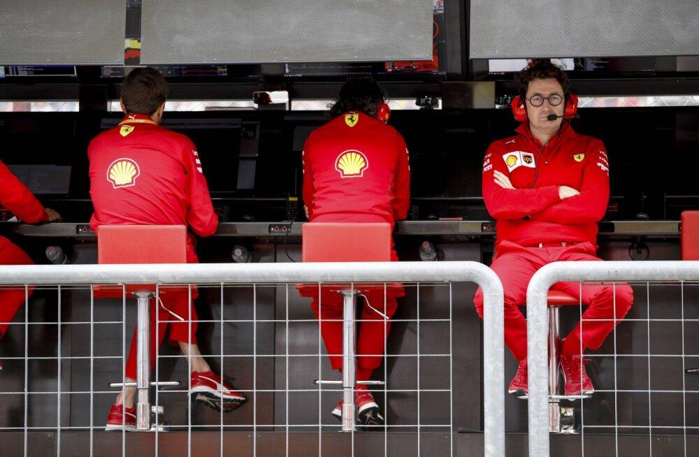 Ferrari pealik: kaotasime tänavuse tiitli juba eelmisel aastal