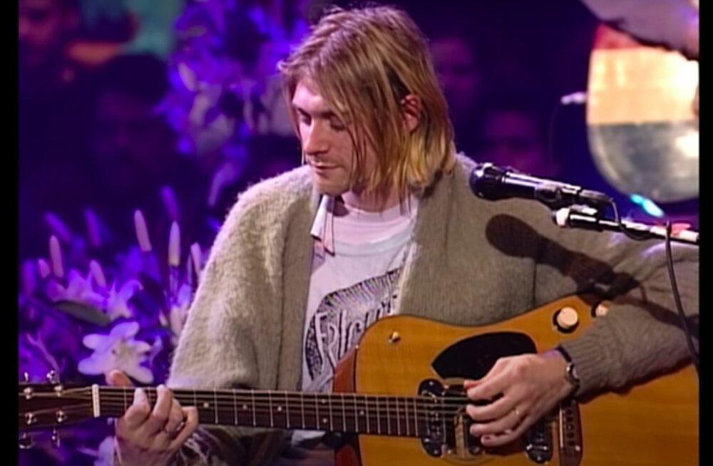 Kurt Cobaini legendaarne kitarr müüdi oksjonil maha suisa hingetuks võtva summaga