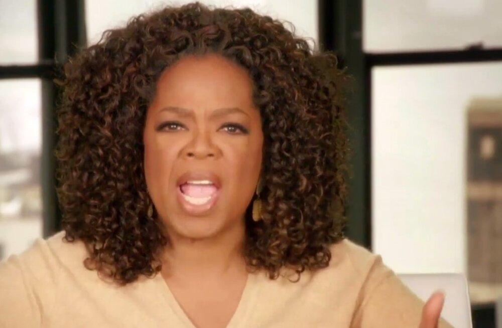 Vahel veab: Twitteri säuts tegi Oprah Winfrey tunniga 12 miljonit dollarit rikkamaks