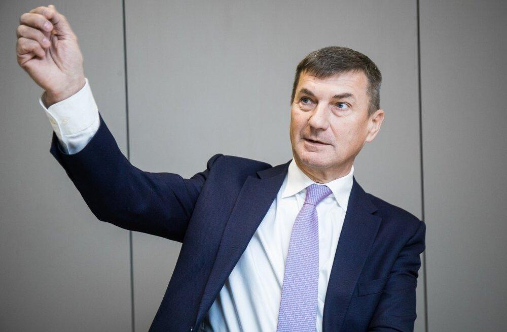 KAHTLUSTAB KURJA JA RÄPAST MÄNGU: Andrus Ansipi arvates lõhub Parvel Pruunsild teist pensionisammast, sest tal on sellega seotud selged ärihuvid.