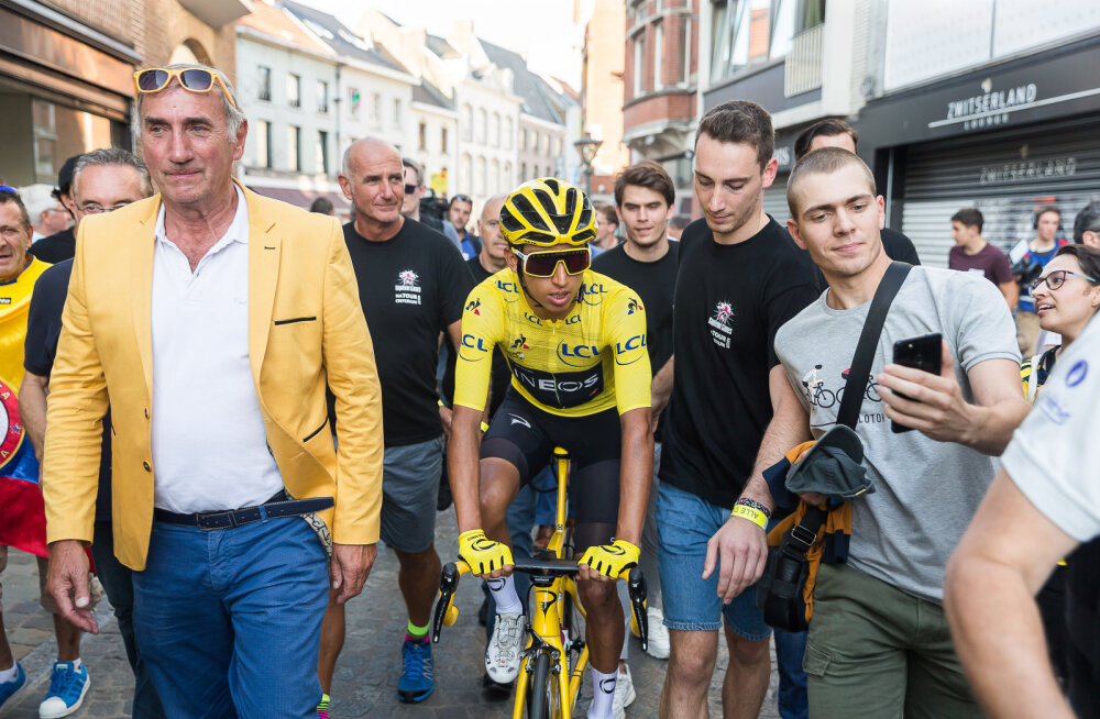 Ei mingit pausi: pohmellis Tour de France'i võitja osales päev pärast suurt triumfi juba uuel võistlusel