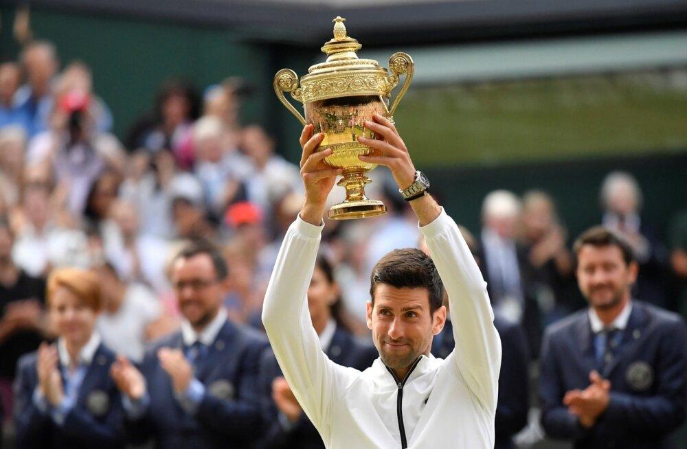 Novak Djokovic on taaskord Wimbledoni tšempion.