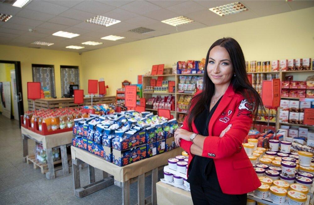 Kaubaring OÜ juhatuse liikme Brit Selge sõnul tuleb nende kaup paljudelt toidutootjatelt ja hulgimüügifirmadelt.