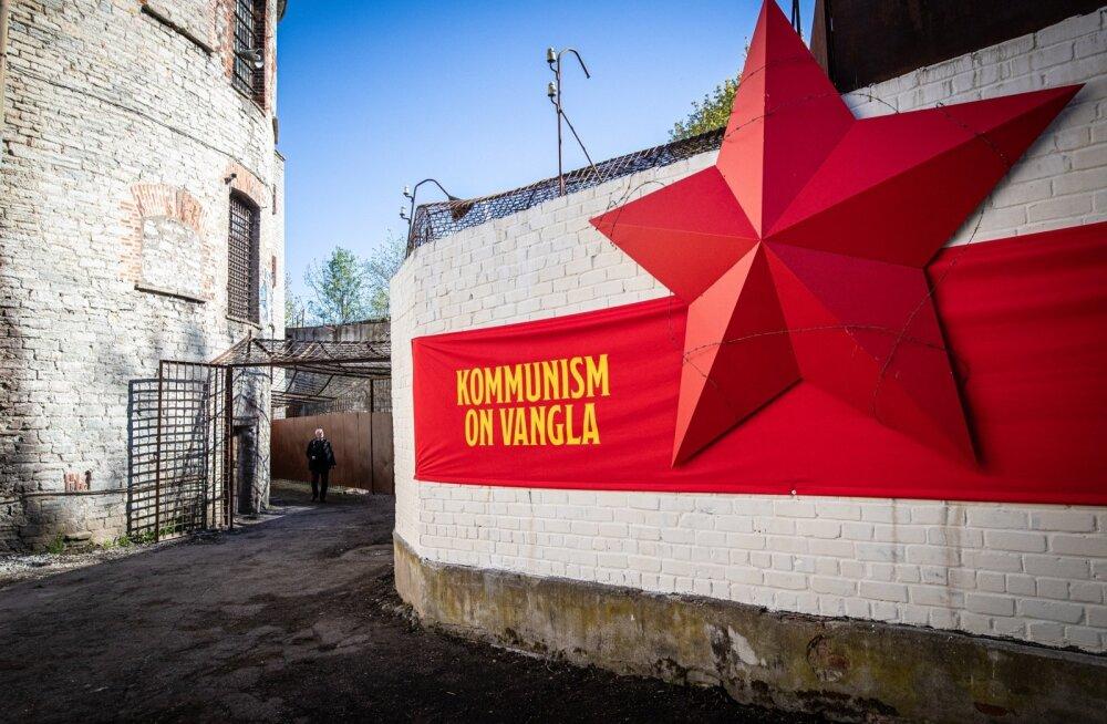 """""""Kommunism on vangla"""" näituse avamine"""