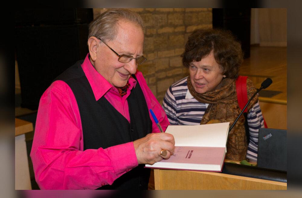 GALERII: Tohutu menu! Armastatud tohtri Adik Levini uue raamatu esitlusele kogunes rohkem rahvast kui saali mahtus