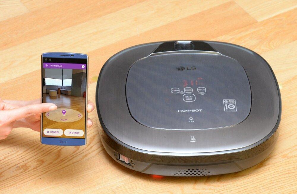 Muuda vanaema tehnikafänniks: LG toob tolmuimeja uude ajastusse täiendatud reaalsuse abil