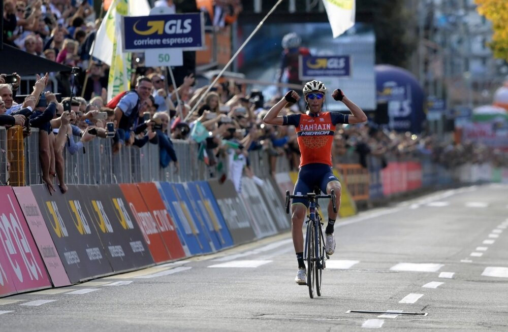 Vincenzo Nibali võidab Lombardia klassiku
