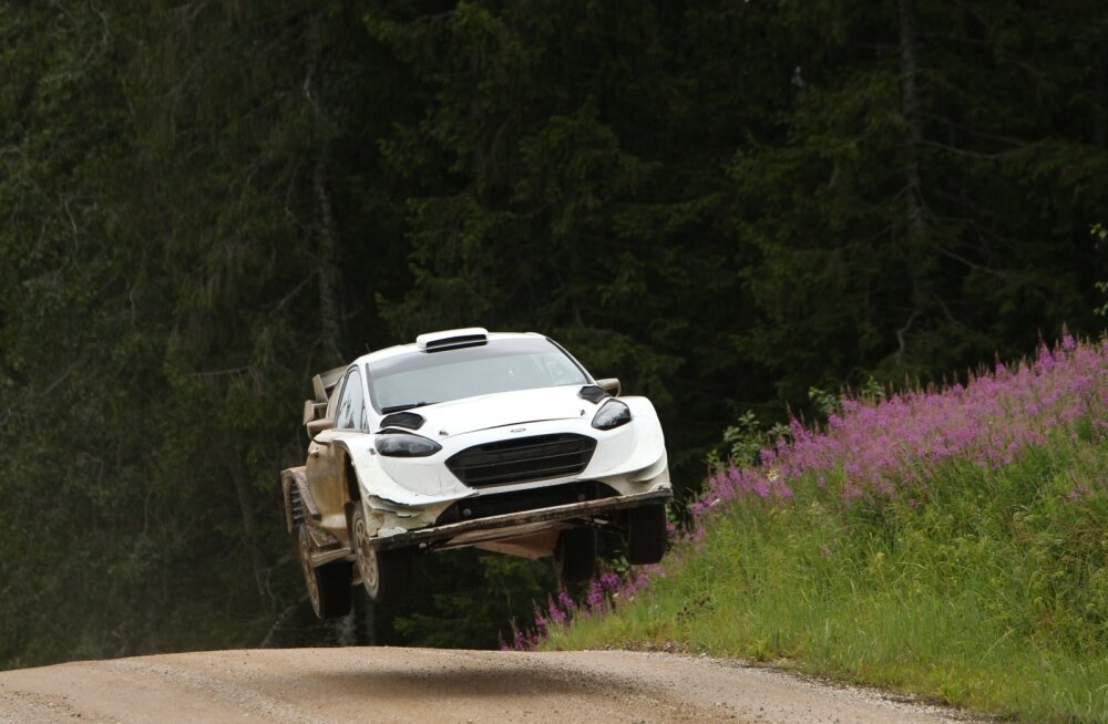 Markko Märtin testis Rally Estonia eel uut Fordi, et olla parimas löögihoos.