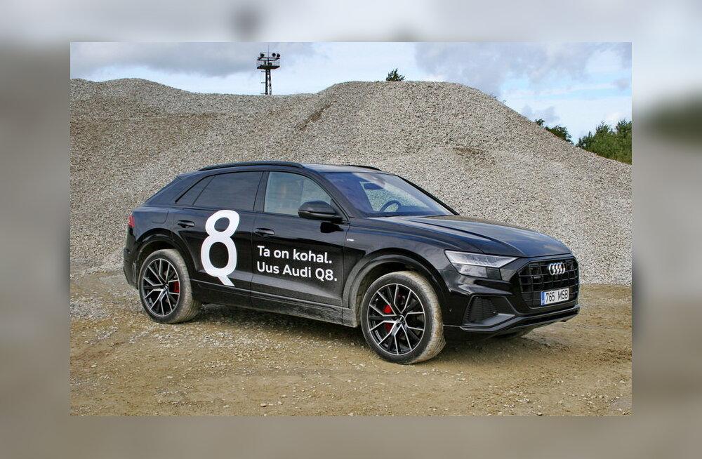 Audi Q8 on smokingusse susatud Q7