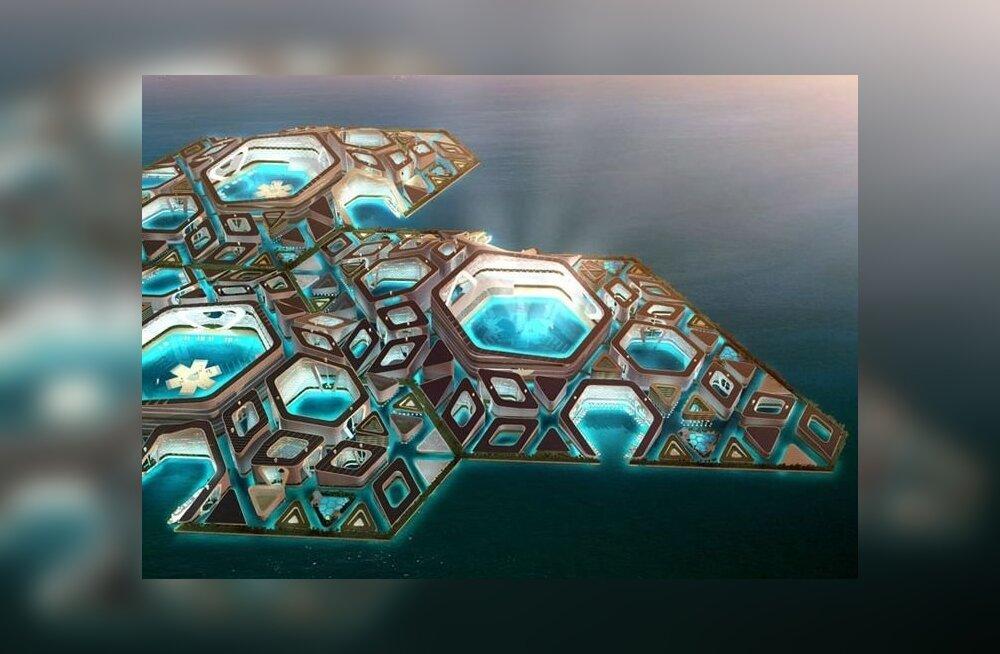 ФОТО: В Китае появится плавающий подводный город