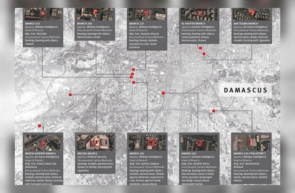 Inimõiguslased: Süüria piinab tuhandeid inimesi vangilaagrites