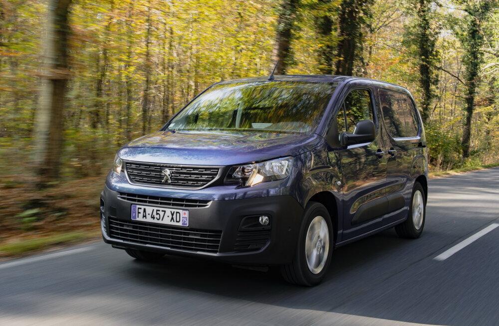 PROOVISÕIT   Peugeot Partner: üks parimate triost