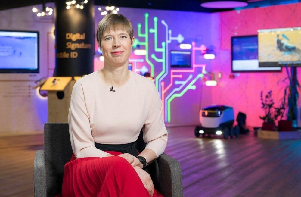 Керсти Кальюлайд: утром я c радостью иду на работу. Люблю Эстонию и эстонский народ