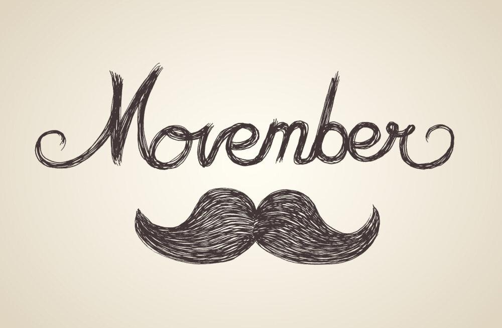 Homme algab Movember