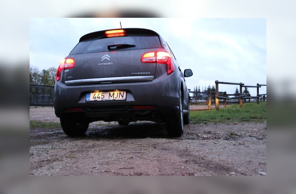 Citroën C4 Aircross: mõistliku hinnaga ruumikas liikur