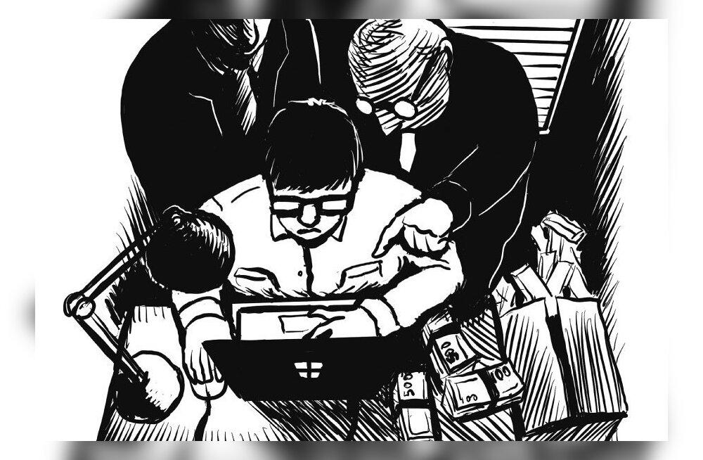 """Занимающаяся драгметаллами международная фирма отмывала """"черные миллионы"""" через Эстонию"""