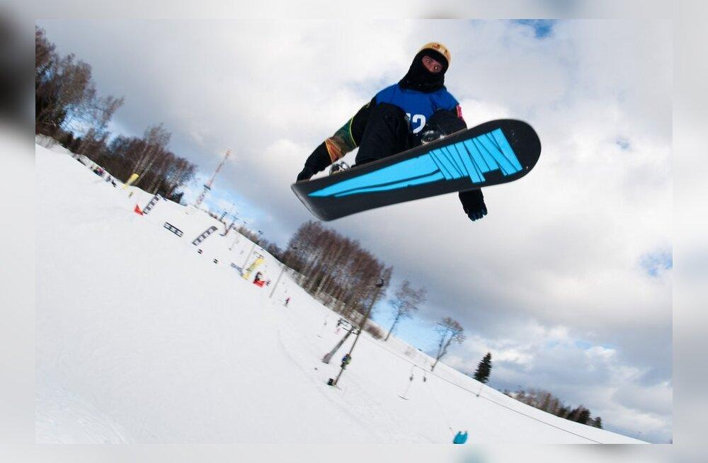 Mario Visnap sai Big Air hüppevõistlusel Soomes 20. koha