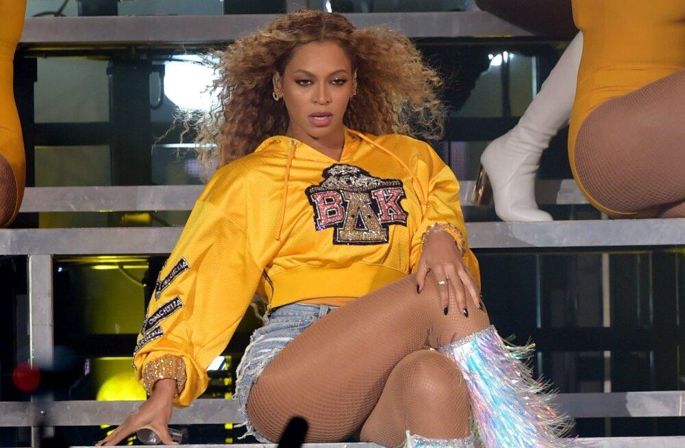HARULDANE   Beyonce näitab uue filmi treileris oma kolme last