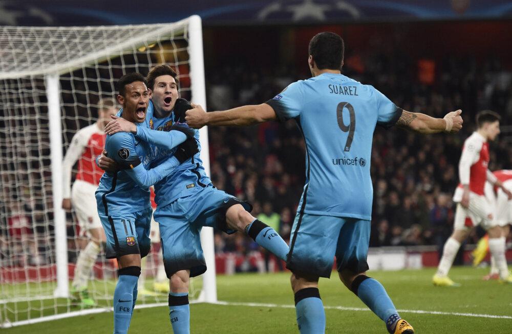 Messi lõi Arsenalile kaks väravat