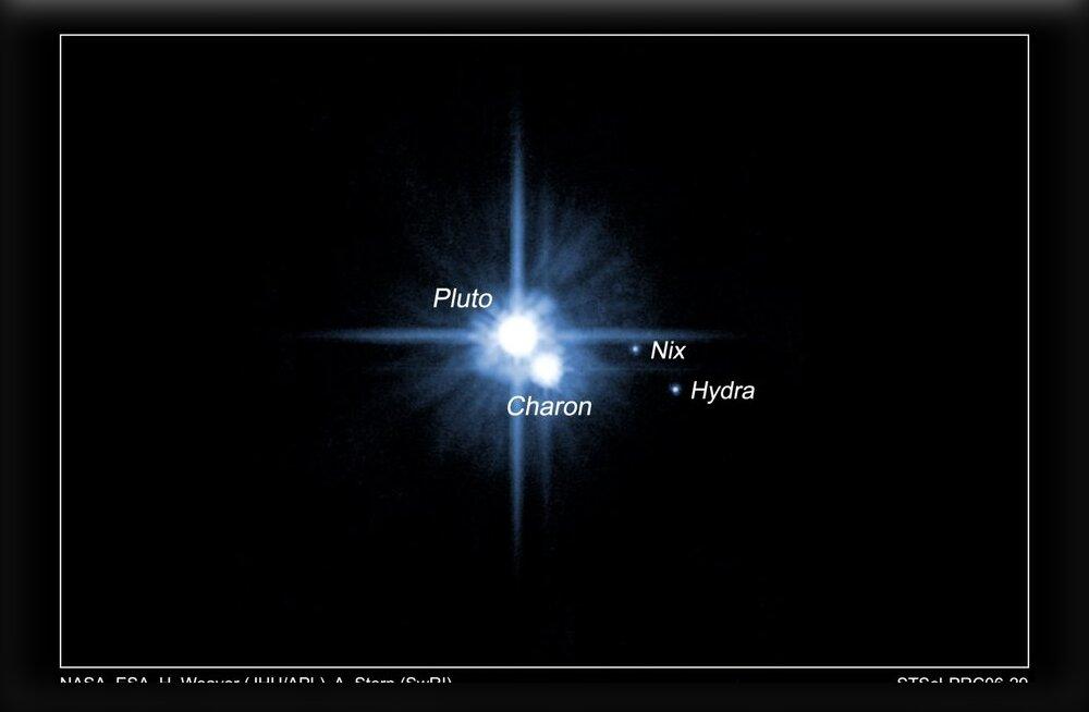 Paigalseis meie taevapildis - ikka on kirjas vaid viis kääbusplaneeti