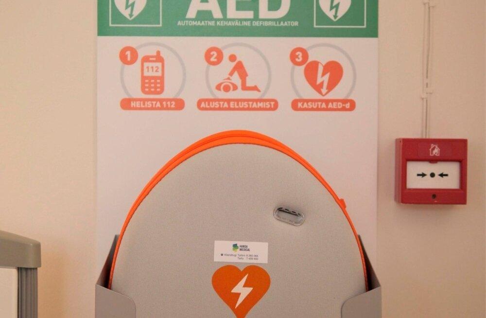 AED elustamisaparaat
