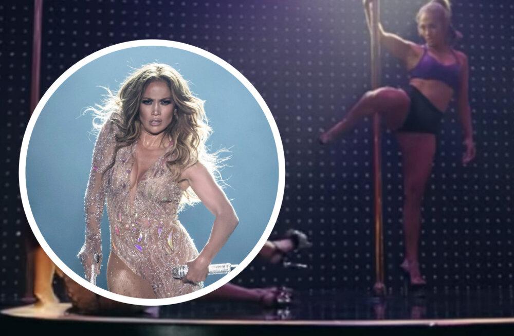 VAATA | 50-aastane Jennifer Lopez näitab lummavat postitantsu