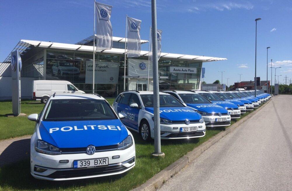 Mudel valitud: PPA piirkonnapolitseinikud sõidavad edaspidi uute Volkswagen Golfidega