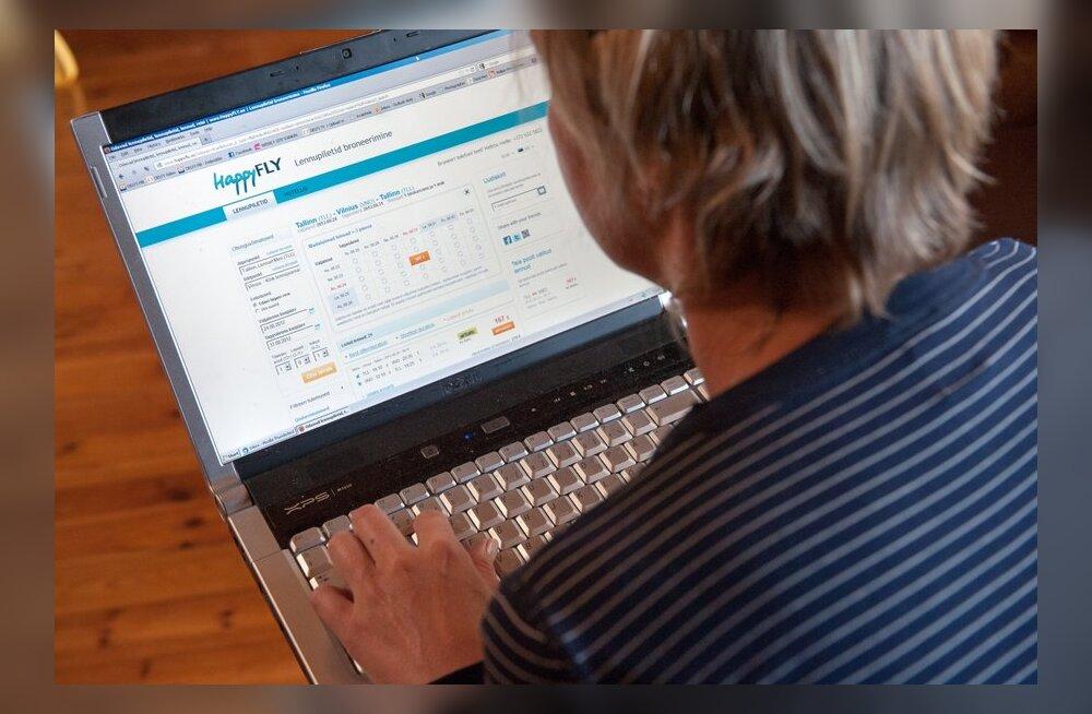 Портал Happyfly.ee требует с клиентов дополнительные деньги за уже купленные билеты