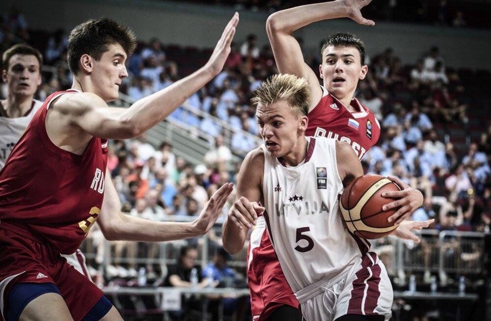 VIDEO | Kodusel U18 korvpalli EM-il finaali jõudnud Läti tegi ajalugu