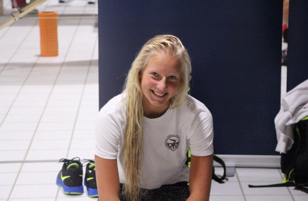 Sigrid Sepp purustas Triin Aljandi seliliujumise rekordi