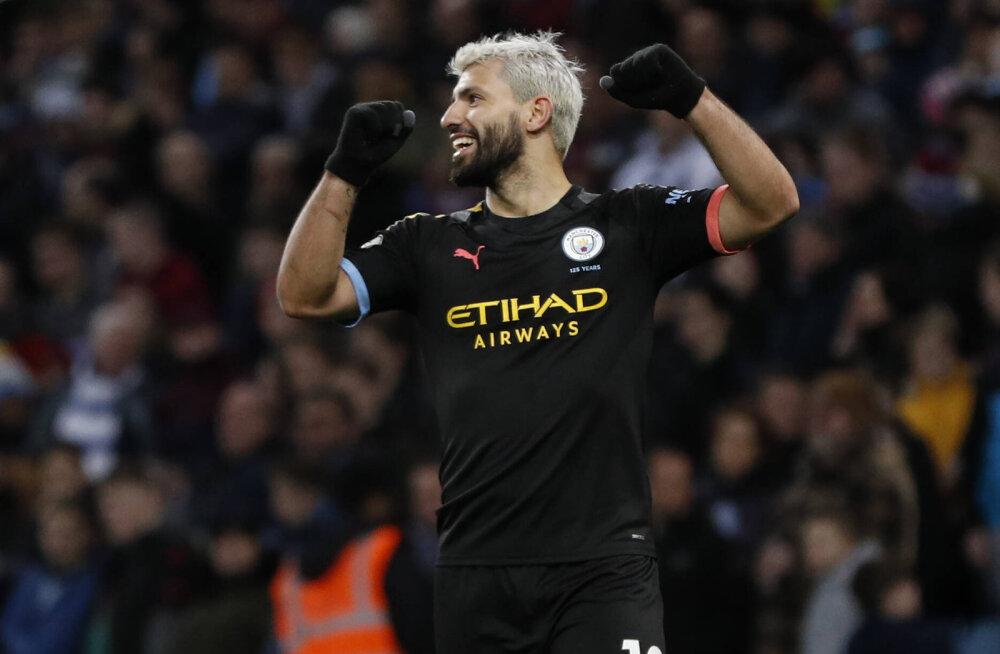 Manchester City korraldas väravatesaju ja tõusis teiseks